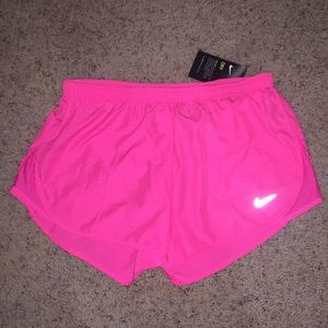 Nike Dri Fit Workout Pink Shorts size Medium NWT
